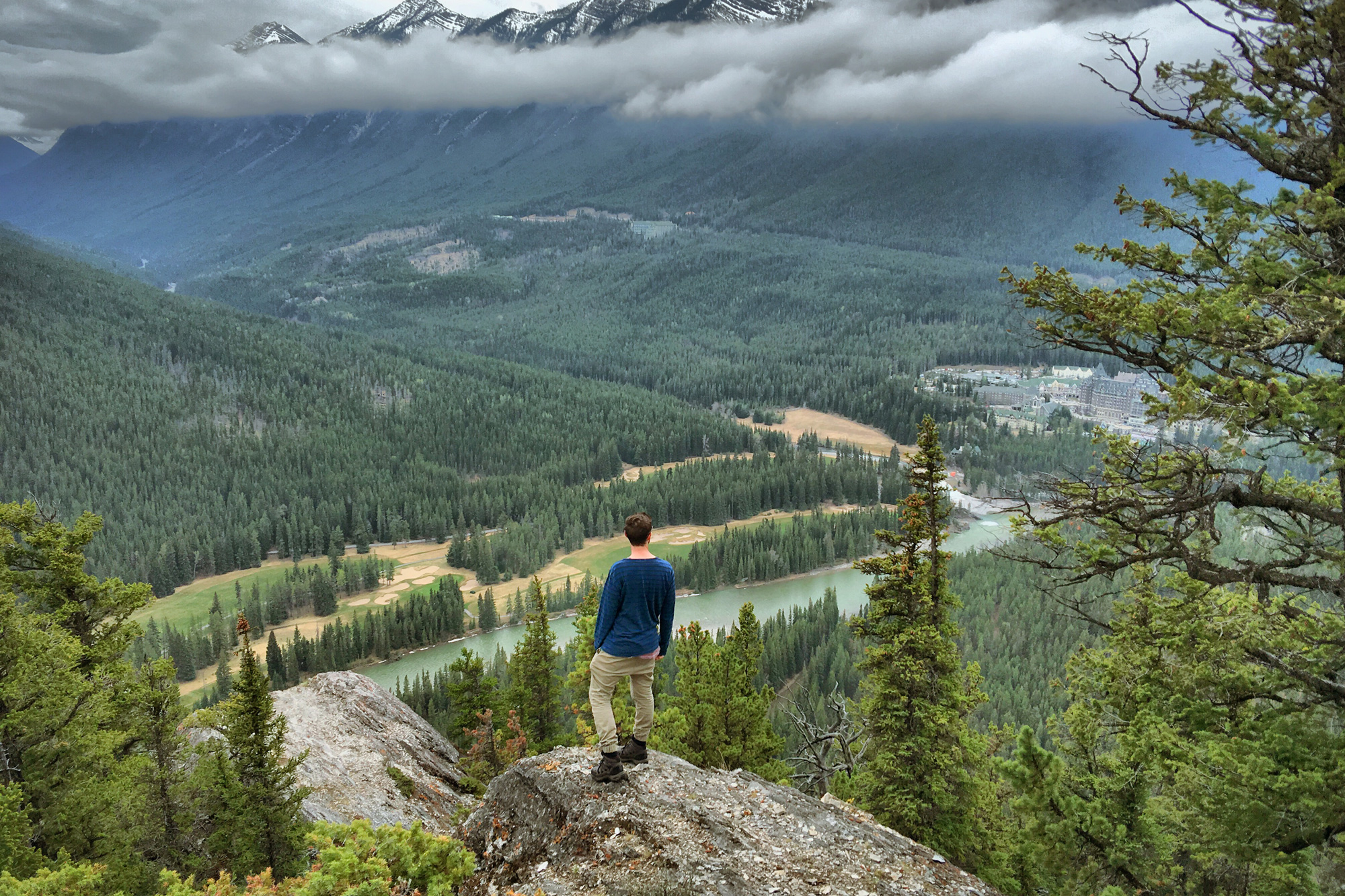 Tunnel Mountain is one of the best Banff hikes.