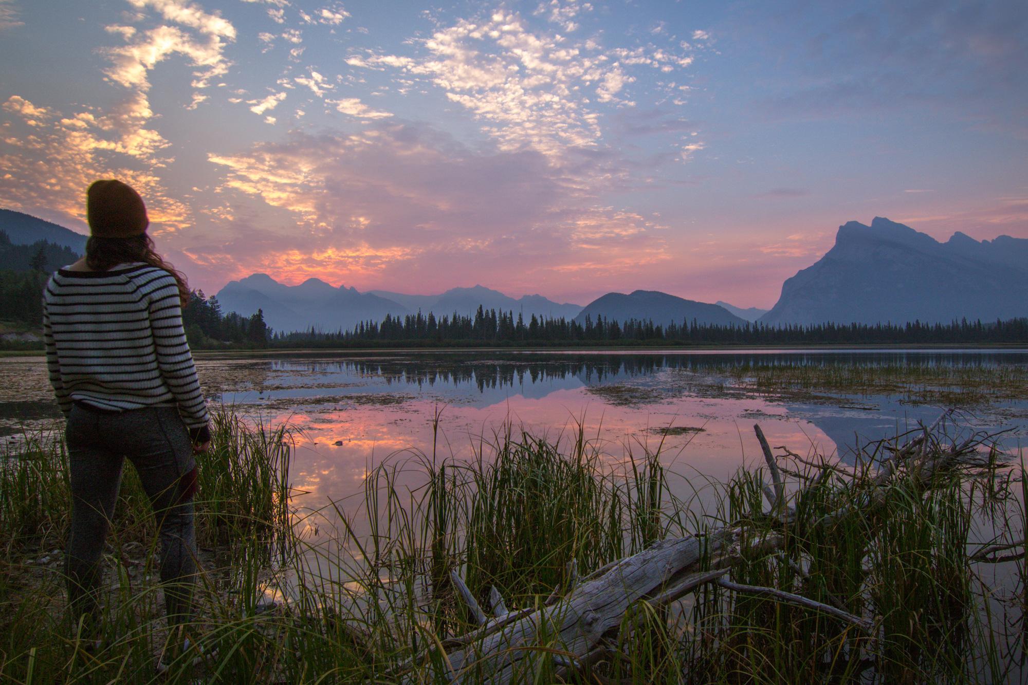 Vermillion Lake Sunrise, Banff National Park