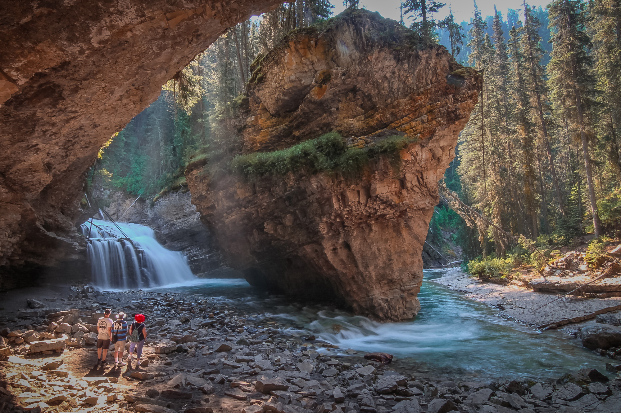 Johnston Canyon is one of the top things to do in Banff all year round