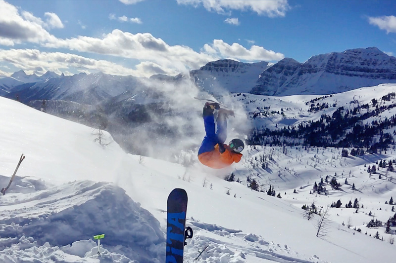 Exploring Sunshine Village is one of the top things to do in Banff all year round