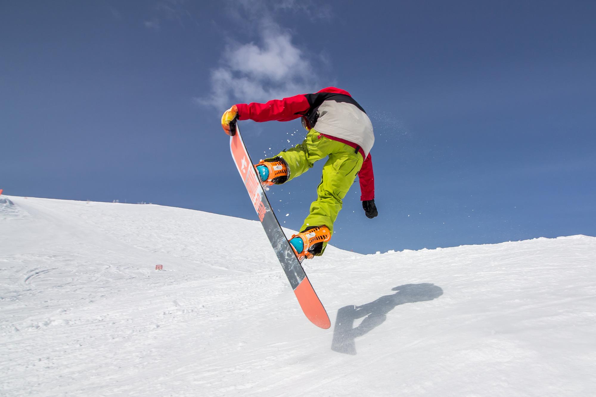 Fun in the sun, Lake Louise Ski Resort