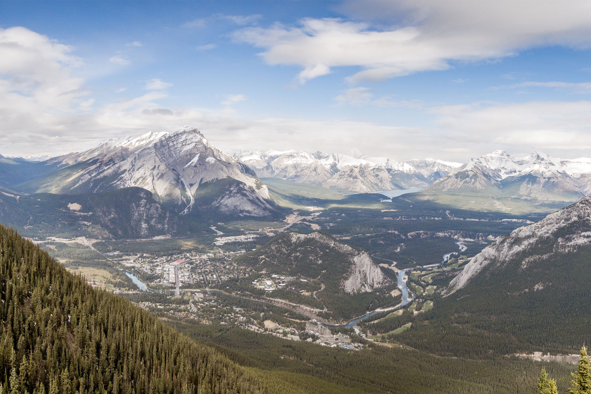 Top-of-Sulphur-Mountain is one of the top things to do in Banff all year round