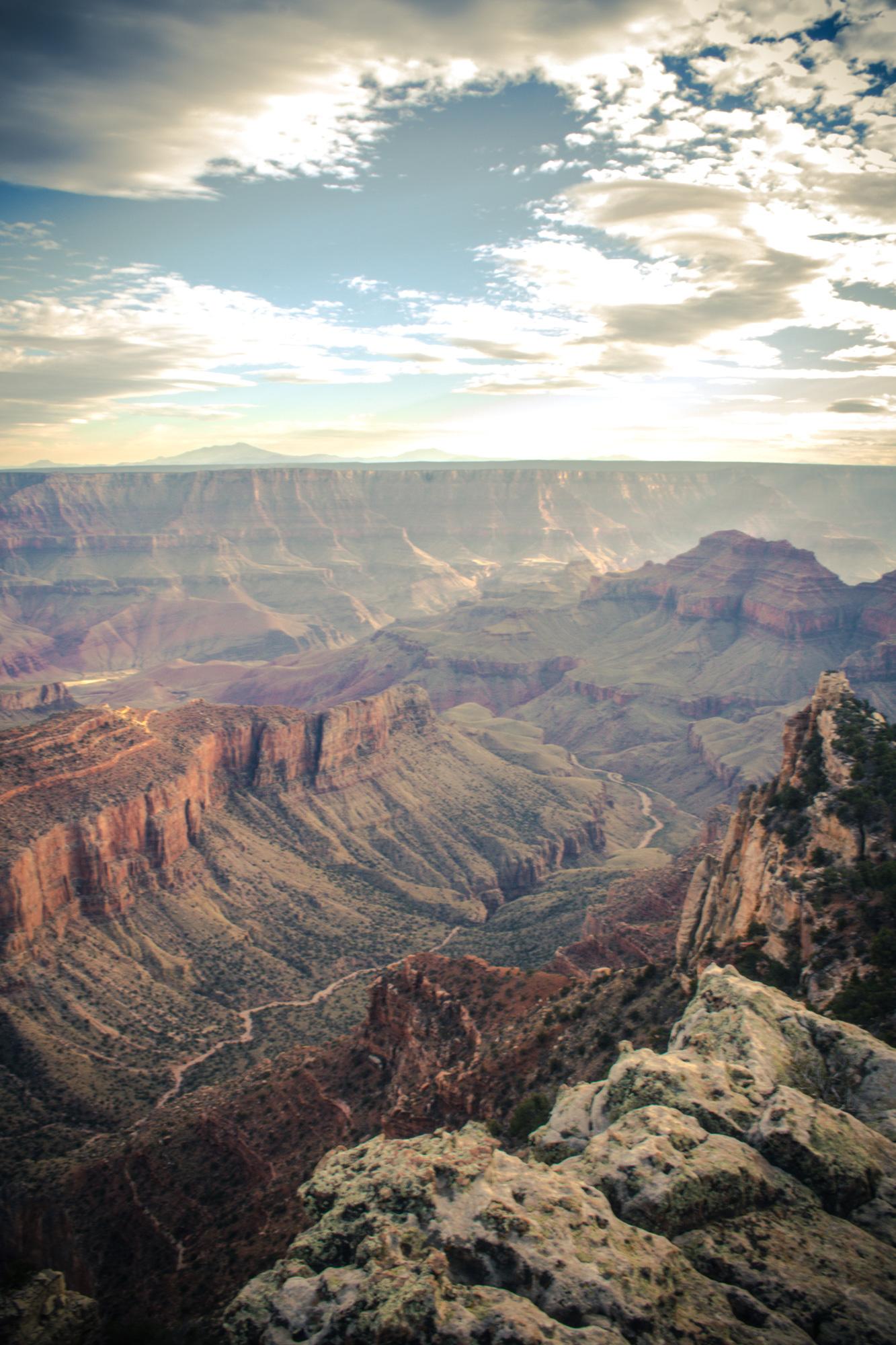 At the North Rim Grand Canyon National Park