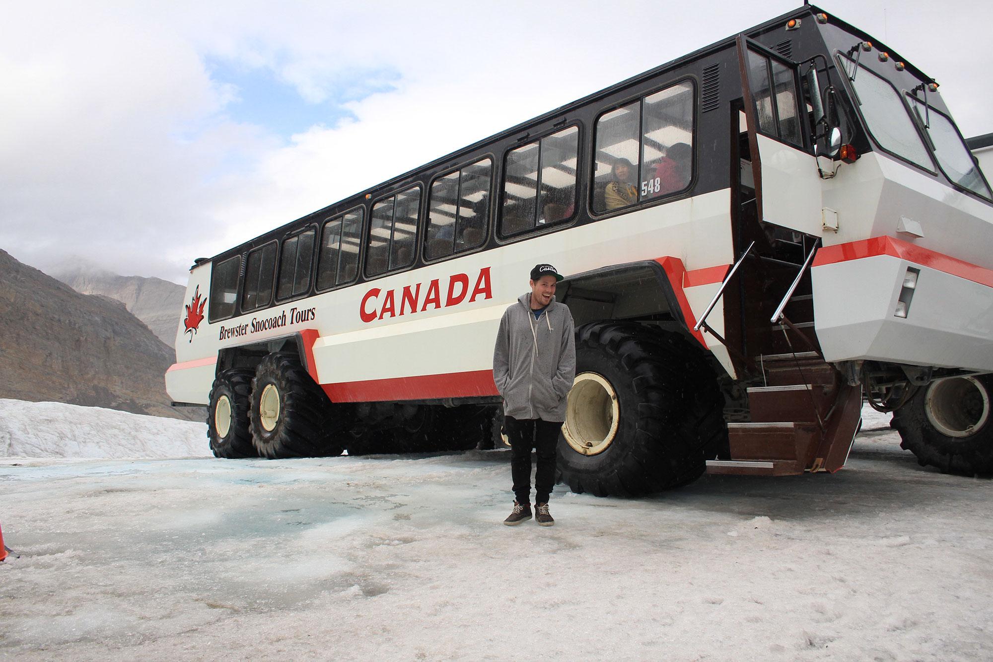 Brewster Glacier Bus Icefield Parkway