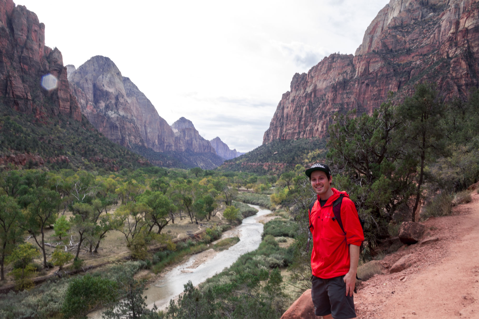View of the canyon from Emerald Pool Trail - One of the best Zion National Park Hikes