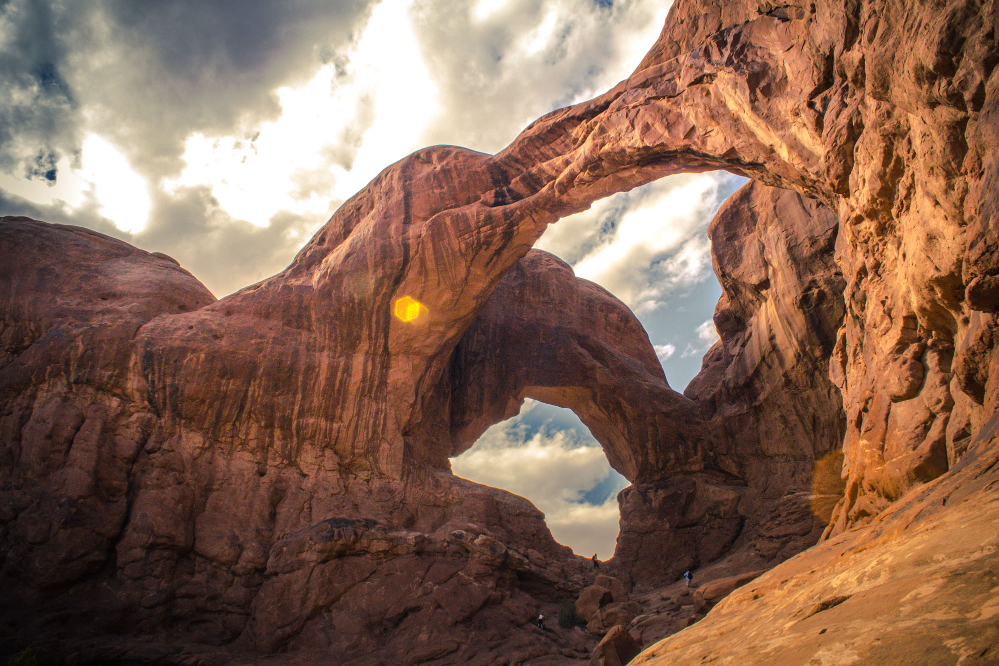 Double Arch, Arches National Park