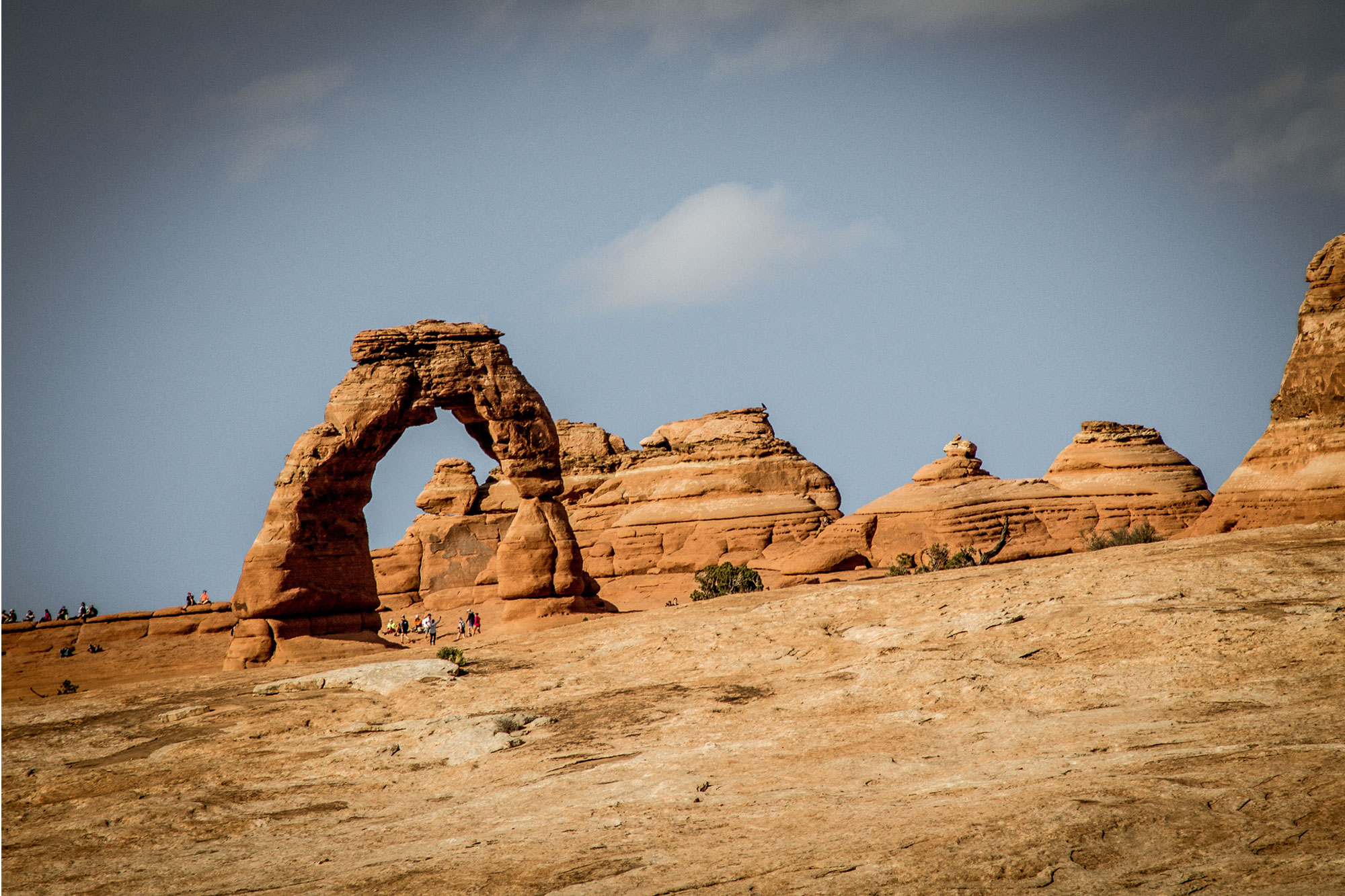 American National Parks. Lower Delicate Arch Viewpoint, Arches.
