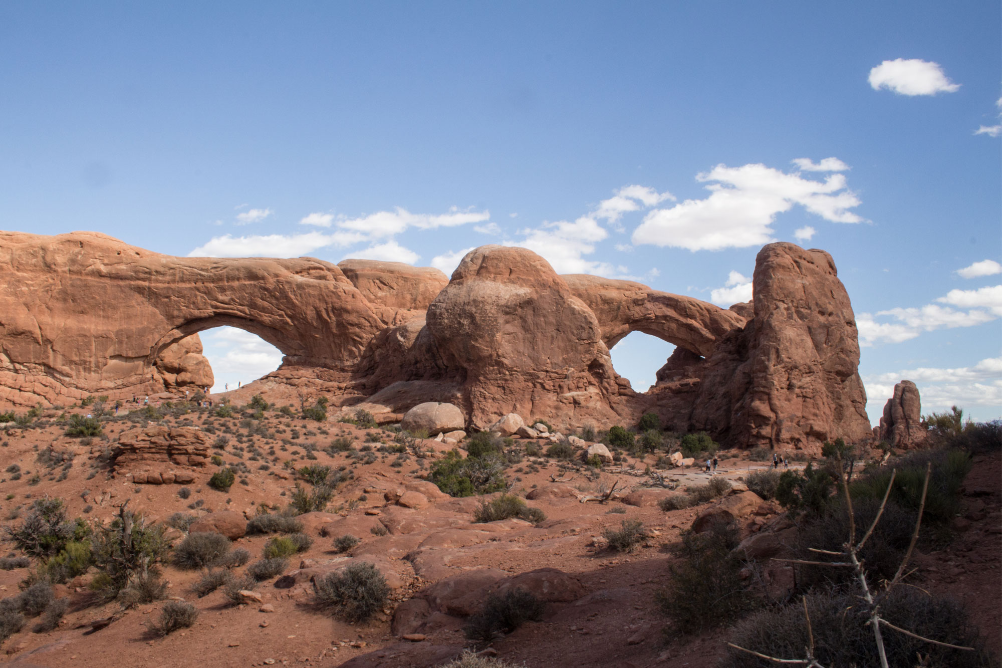 The Spectacles, Arches National Park