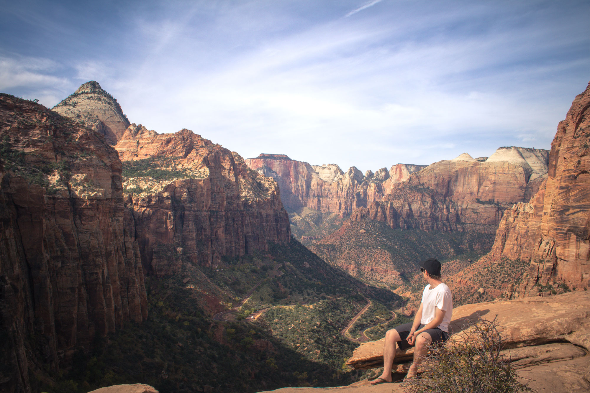 Zion National Park Canyon Overlook