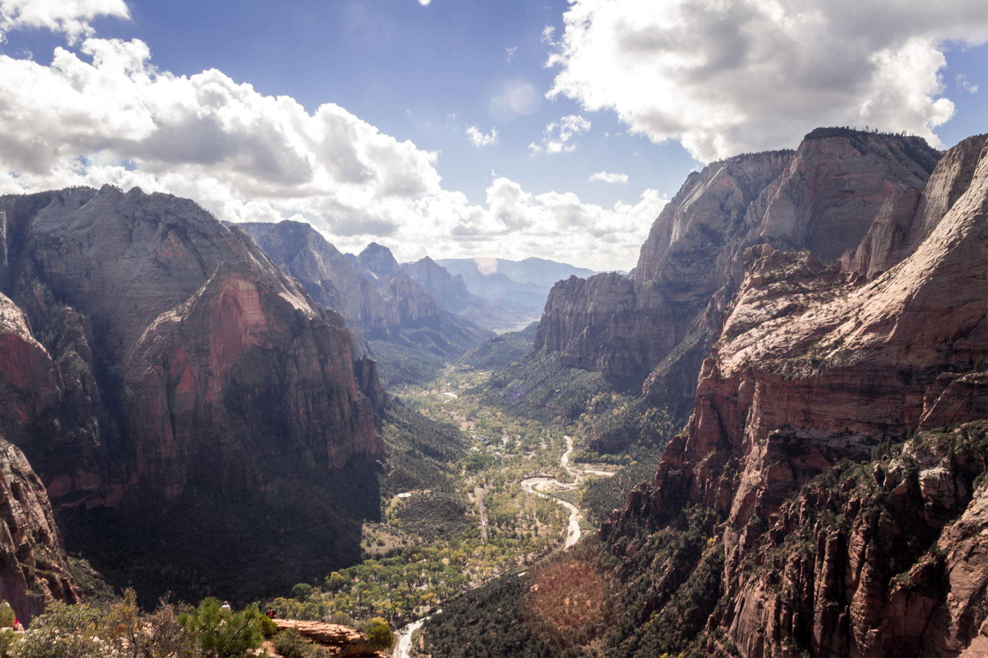 Zion Valley from Angel's Landing Zion National Park